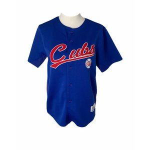 Boys size large mlb Chicago cubs sorino jersey
